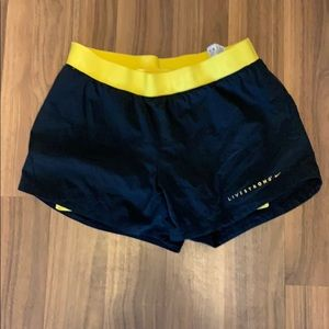 Live strong spandex short